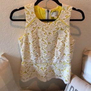 Greylin lace blouse